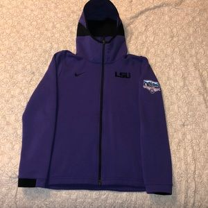 Nike Dri-Fit LSU Tigers Zip up Jacket